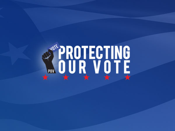 Protecting Our Vote Logo